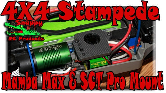 4x4 stampede mount