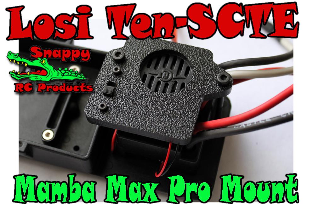 SnappyRC Mamba Pro Slash 4wd Mount
